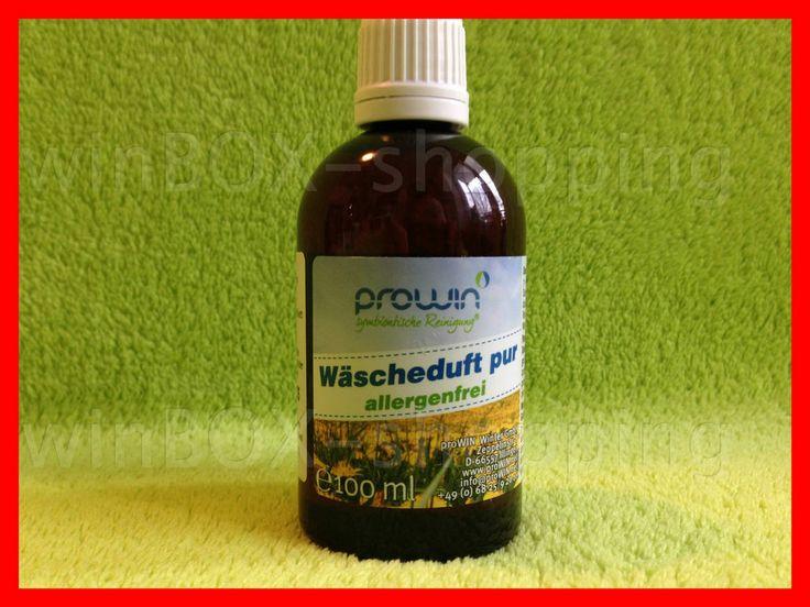 proWIN Wäscheduft pur 100 ml original Wäschebaukasten pro WIN Waschmittel