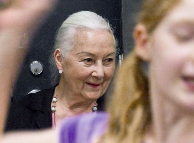 �Off the page and to the stage�: Rosemary Harris visits Camp Shakespeare