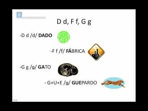 El abecedario. Sonidos del español primeras palabras