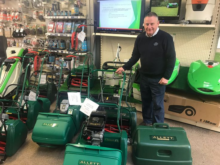 It's nearly thirty years since Steve Bartle set up The Mower Show and over twenty years of which the company has been an Allett Mower dealer. The Northamptonshire dealership is the largest of its kind in the Midlands. Catering for both the domestic and professional turfcare markets, The Mower Shop