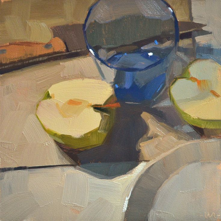 Carol Marine's Painting a Day: Divided Attention