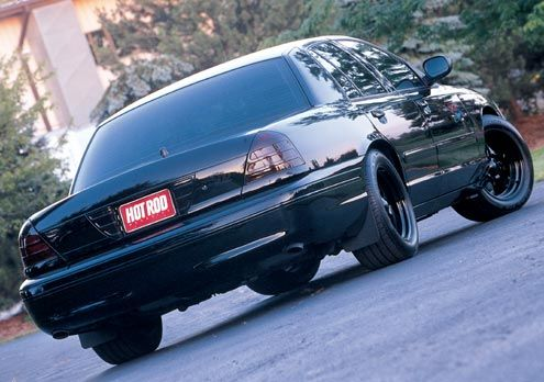 Wicked Vicson Ford Crown Victoria Police Interceptor Unmarked
