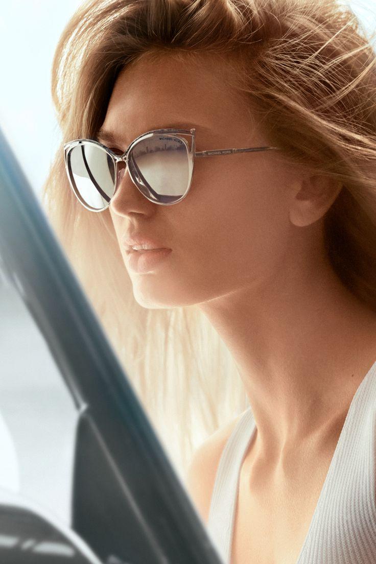 Michael Kors Mirrored CatEye Sunglasses