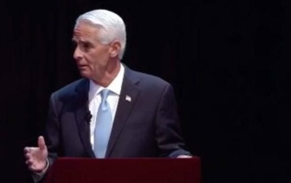 VIDEO=> Democrat Charlie Crist Says Hillary Clinton Is Honest – Audience Breaks Out in Laughter ~ Old Charlie is confused about many things. He used to think he was a Republican; then he thought he was an independent; now he thinks he's a Democrat