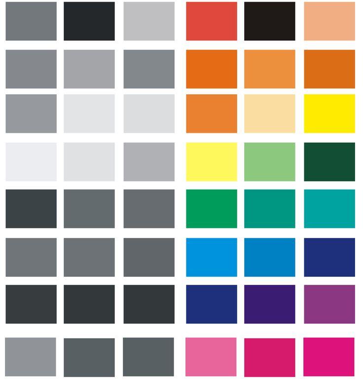 pop art color palette