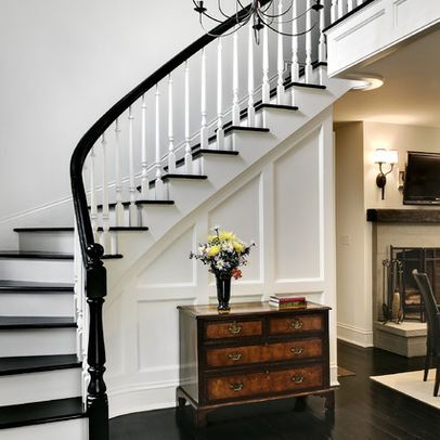 Dwellers Without Decorators: Black and White Staircase