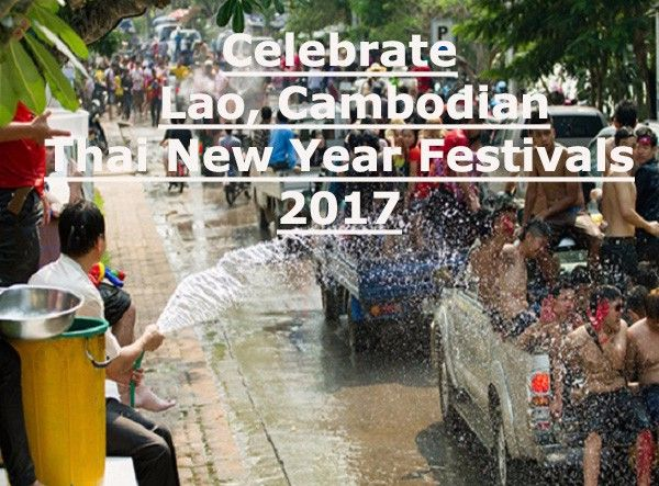 April is time for people of Laos, Cambodia, Thailand and other Buddhist countries in Asia to celebrate their new year, which is highlighted with water festival.