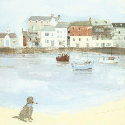 Art Group Cornish Sea Dog by Hannah Cole Art Print on Canvas & Reviews | Wayfair UK