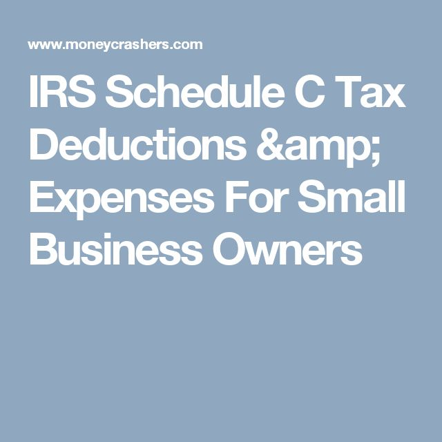 Business Profit And Loss Form Irs Schedule C Tax Deductions - profit and loss worksheet