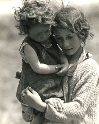 SPAIN Civil War refugees 1933