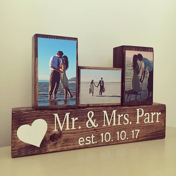 Rustic wedding sign wedding gift bridal shower gift mr and