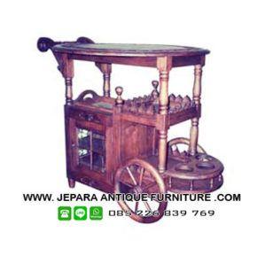 Furniture restaurant kayu jati di toko furniture restaurant dan cafe