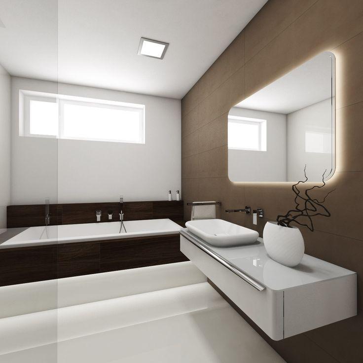 Modern bathroom COFFEE - visualization