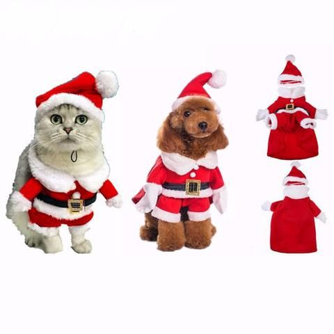 High Quality Santa Claus Pet Costume