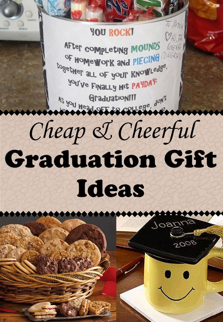"""Is this one of those years that you have lots of graduation gifts to buy? No worries…The Budget Diet girl has plenty of ideas for cheap and cheerful graduation gifts that are clever and thoughtful without screaming """"cheap""""!"""