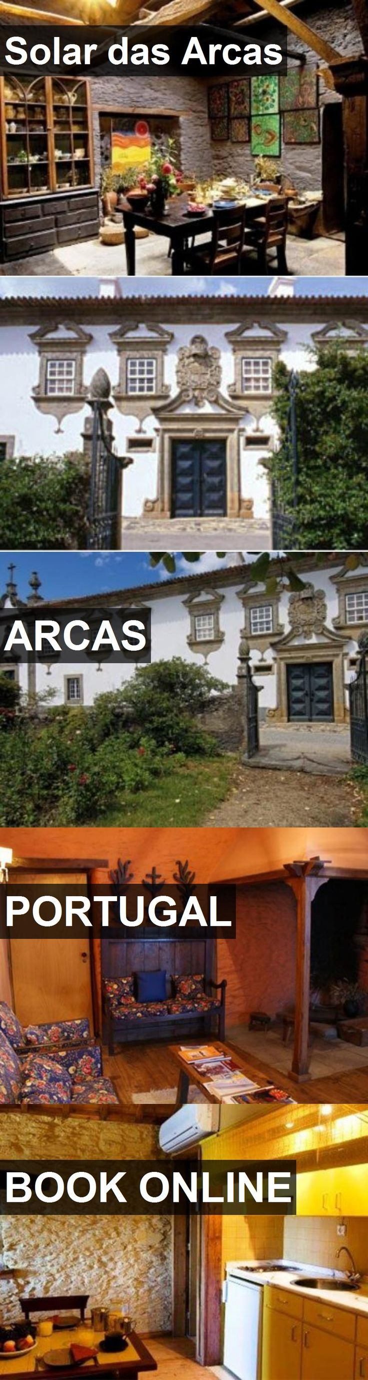 Hotel Solar das Arcas in Arcas, Portugal. For more information, photos, reviews and best prices please follow the link. #Portugal #Arcas #travel #vacation #hotel