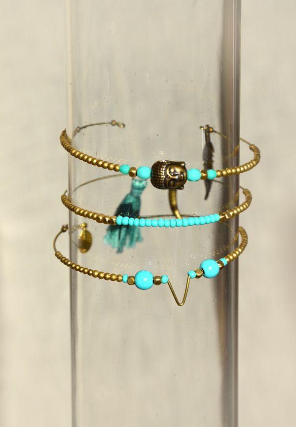 Bracelets Bouddha Inas & Inaya - Créations de bijoux ethnique bohème : Bracelet par bijouxsansfin