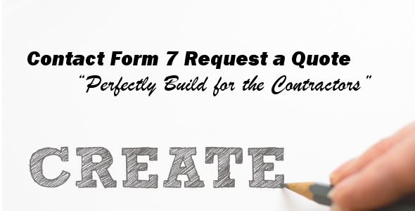 Contact Form 7 Request a Quote Codecanyon WordPress Plugins - quote request form