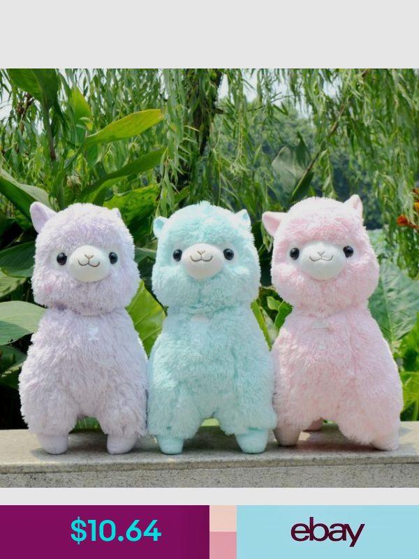 "New /""Fresh/"" Alpacasso Yellow Alpaca 35cm Plush Amuse Arpakasso Fluffy Toy Gift"