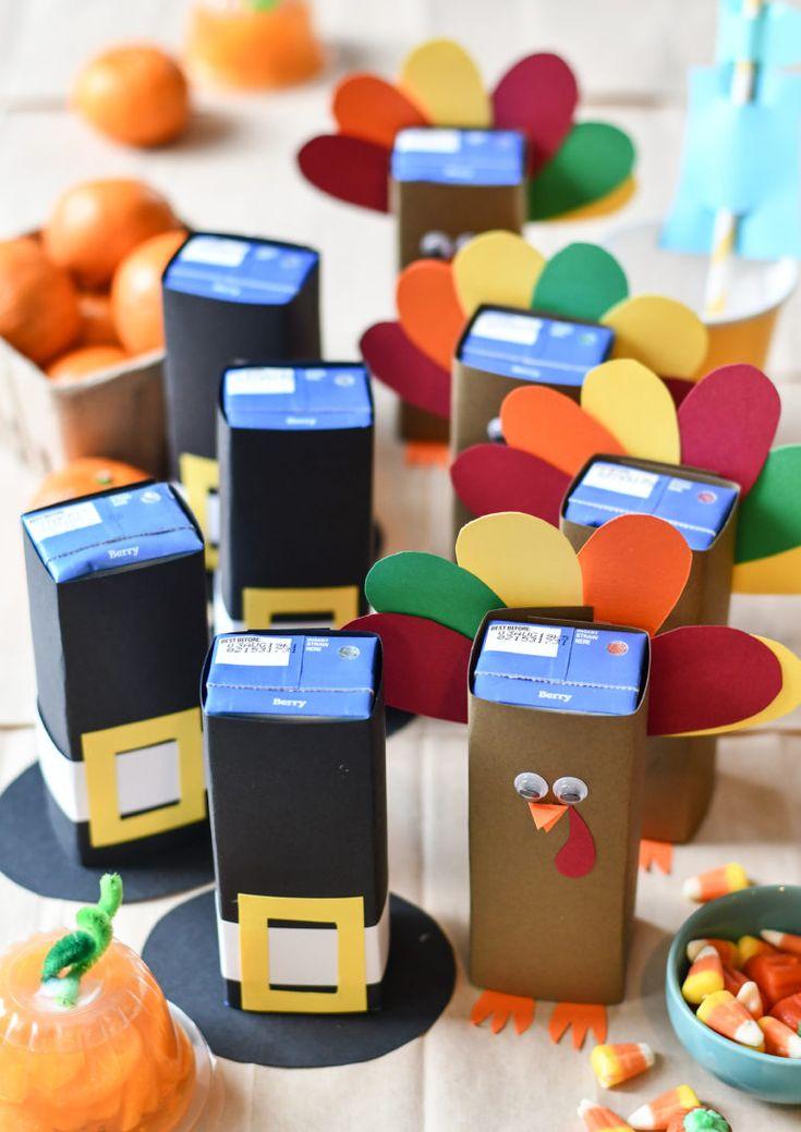 Thanksgiving Juice Boxes | Thanksgiving snacks ...