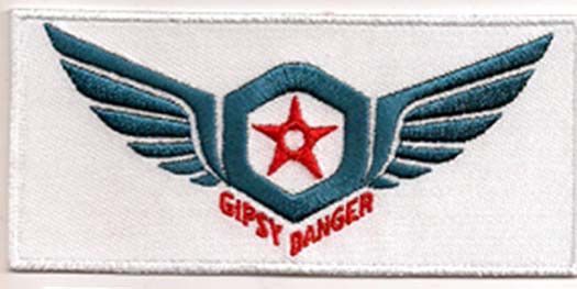 """PACIFIC RIM Movie 3.75"""" Gypsy Ranger Wings Logo Patch (PMPA-003)"""