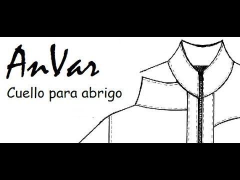 CUELLO ALTO PARA ABRIGOS - Trazo del patrón