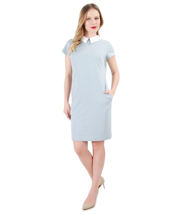 Sky blue, spring blue YOKKO | spring17 #dress #light #pastel #spring #dayoutfit #women #newcollection #yokkofashion #style