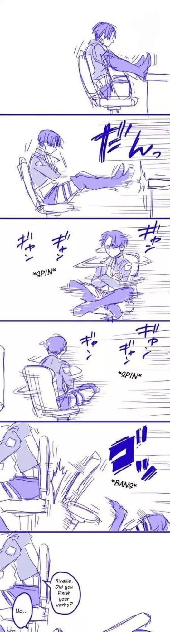XD tipico juegar con una silla y caerte