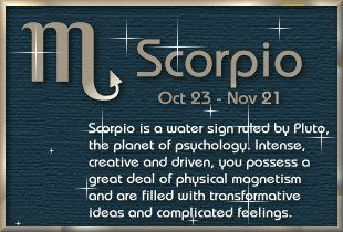 33 best Scorpio images on Pinterest | Signs, Astrology and ...