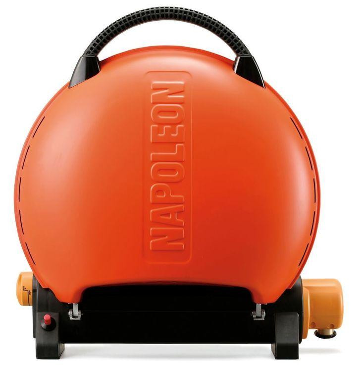TravelQ Portable BBQ in Orange http://grillidea.com/best-gas-grills/