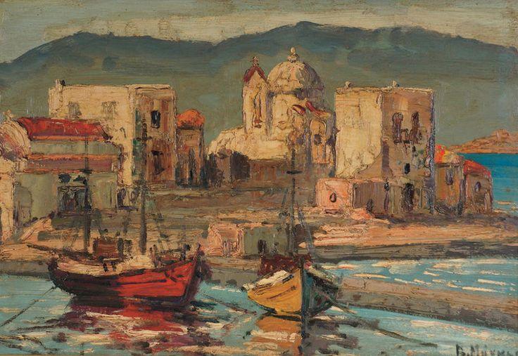 Μάγκος Βύρων – Vyron Mangos [1924-2004] | paletaart – Χρώμα & Φώς