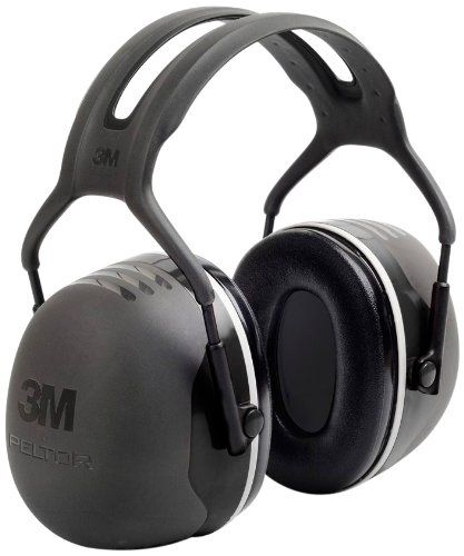 3M Peltor X-Series Over-the-Head Earmuffs, NRR 31 dB, One...