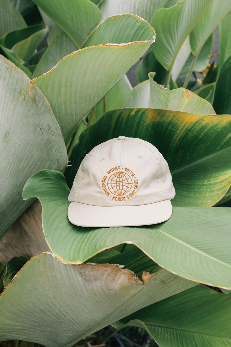 Universal Works X Satta Peace.Love.Soul - Embroidered Cap