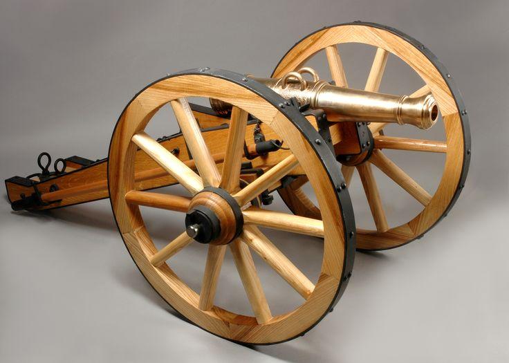 3-liberní kanon, lafeta, historie, zbraně, napoleon, válka