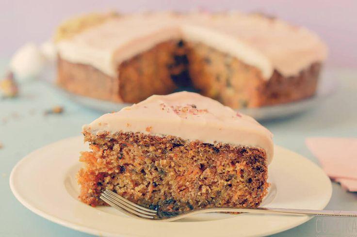 Κέικ+καρότου+χωρίς+μίξερ