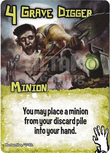 Grave Digger - Zombies - Smash Up Card   Altar of Gaming