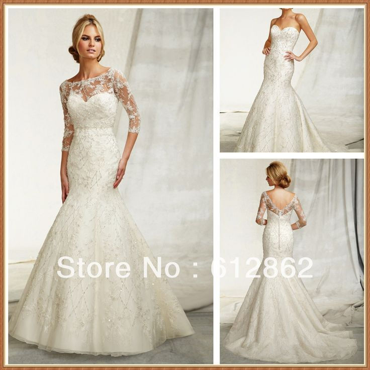 Great  best Dresses images on Pinterest Wedding dressses Marriage and Lace weddings