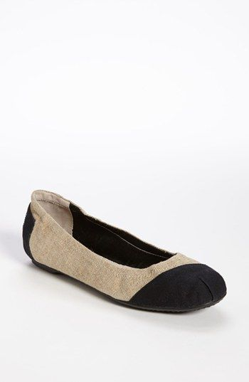 TOMS 'Alessandra' Ballet Flat available at #Nordstrom  Love and need.  Well, love anyway