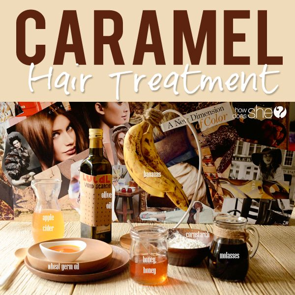 Pamper yourself with a caramel hair mask and these caramel-inspired beauty tips!