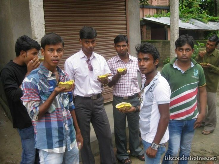 Prasadam Distribution at Murari Gupta Village on 29 June 2013