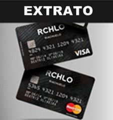 Cartão de Crédito Riachuelo Visa - Extrato