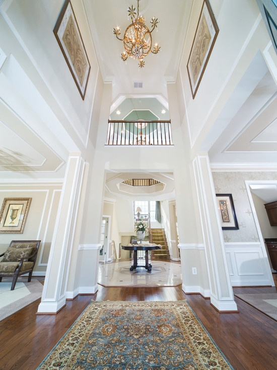 Two Story Foyer Design Ideas : Best story foyer ideas on pinterest wasted space