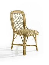 Chaise classique / en rotin
