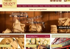 Dean's unveils new website with fatBuzz
