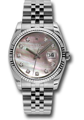 Rolex Oyster Perpetual Datejust 36 Watch 116234 dkmdj
