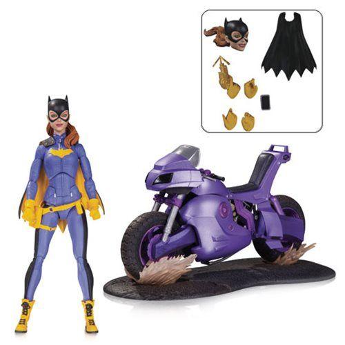 DC Icons Batgirl of Burnside Action Figure Playset