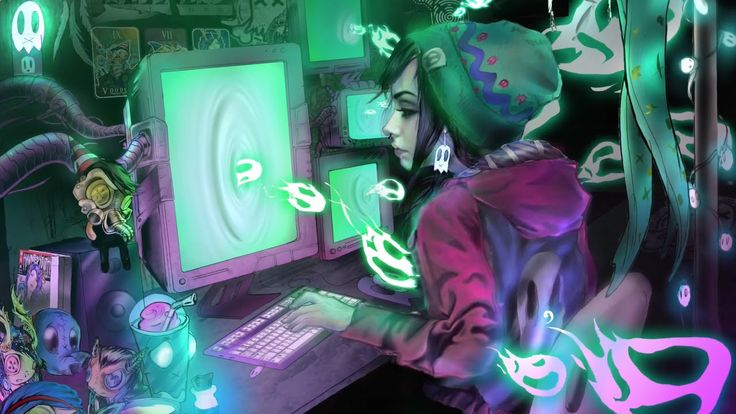 """""""Fan Girl"""" by Ghost Town Speed Painting"""