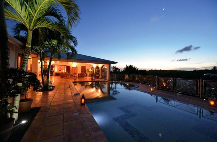 AZUR REVE http://www.stmaarteninvestments.com/real-estate.aspx?id_villa=28&type=sale&utm_source=Pinterest&utm_medium=web&utm_campaign=Magic+Bullet  Terres Basses - French Lowlands, St. Martin 4 Bedrooms, 5 Bathrooms, Hillside Views, Swimming Pool