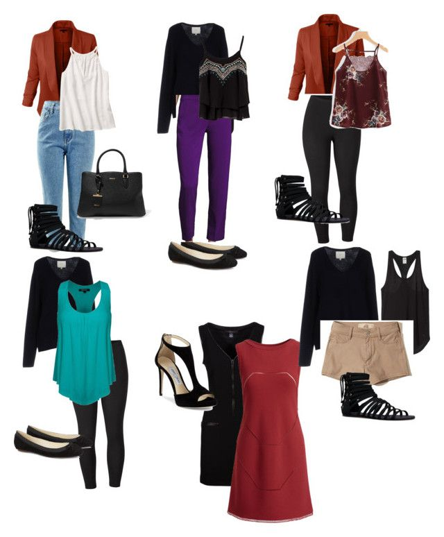 """""""Business Travel packing list"""" by mandy-curtis on Polyvore featuring Ralph Lauren Collection, Venus, Jimmy Choo, JustFab, Ora, DKNY, Alaïa, Etro, Hollister Co. and plus size clothing"""