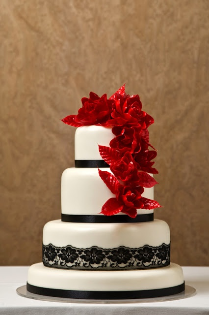 Debut Cake Designs Red Ribbon : 62 best wedding cakes images on Pinterest